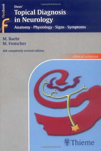 Duus' Topical Diagnosis in Neurology: Anatomy, Physiology, Signs, Symptons (Thieme Flexibook)