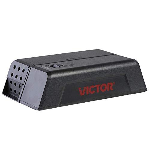Victor Fortschrittliche Elektronische Mausefalle - Schnell, Zuverlässig & Hygienisch Mäuse bekämpfen - Geschlossene Falle & Einfache Nutzung - Mod. M250S