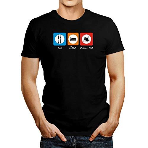 Idakoos Eat Sleep Drum Kit T-Shirt M - Eat Sleep Drum