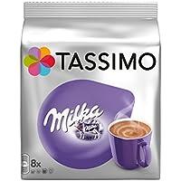 Tassimo Milka - Bebida Chocolate Caliente 8 T DISCs (Paquete con 5 Total 40 T DISCs) 40 Porciones