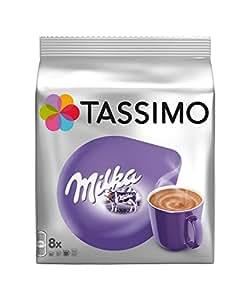 Tassimo T-Disc Milka Trinkschokolade, 5 Packungen = 40 Portionen