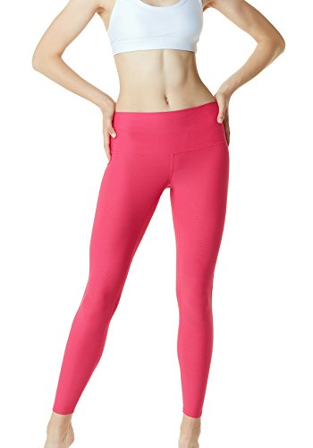 Tesla de yoga pour femme Pantalon High-waist contrôle du ventre L Poche cachée Fyp42 TM-FYP42-MGT