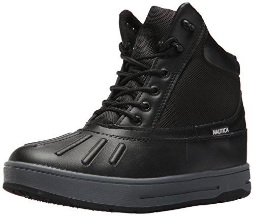 Nautica Men's New Bedford Ankle Boot, Black
