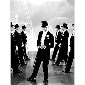 Posterlounge Alubild 30 x 40 cm: Fred Astaire von Everett Collection
