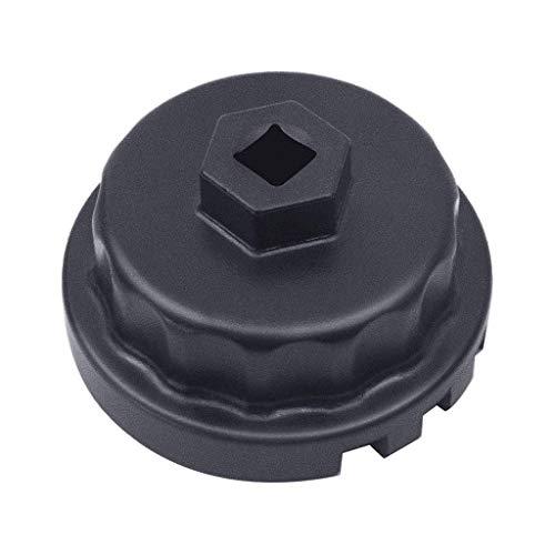 Hengzi Werkzeuge Ölfilterschlüssel für Toyota/Lexus/Scion 2.0 bis 5,7-Liter-Motoren mit 64-mm-Ölfilter-System - perfekt für Camry / RAV4 / Tacoma/Highlander/Sienna/Tundra und mehr