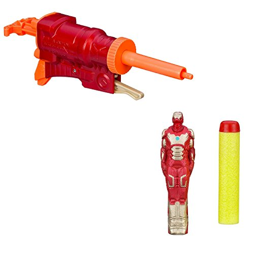 Preisvergleich Produktbild Nerf Marvel Avengers Initiative Iron Man 3 Flyers Blaster Gun Toy New - Iron Man