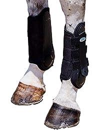 Weatherbeeta, Flexi Shell Hind Cross Country Boots, Black COB