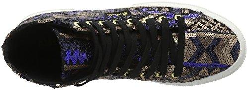 Superga2795-ethnicpaiw - Scarpe da Ginnastica Basse Unisex – Adulto Mehrfarbig (902 ecru navy)