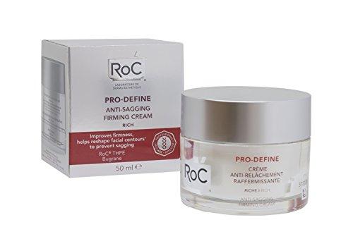 ROC Pro Define - Crema Anti Flacidez, Reafirmante, Textura Rica, 50 ml