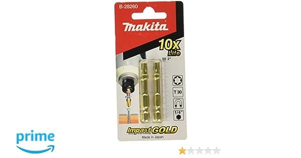 Multi-Colour Makita B-28260 Torsion Bits