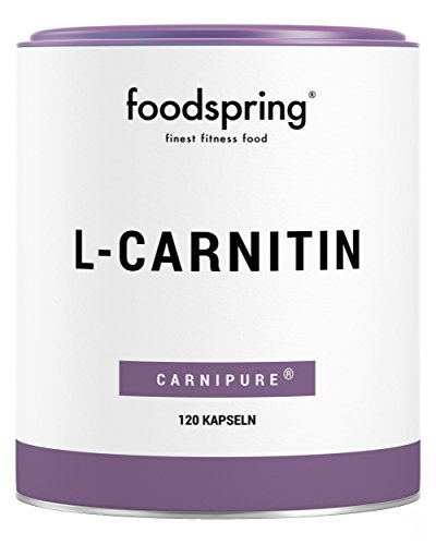 foodspring L-Carnitin Kapseln, 120 Stück, Vegan,...