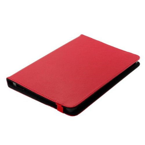 sumo:mobile Universal Bookstyle Tasche für Tablets / Tablet PC's bis 10 Zoll in rot