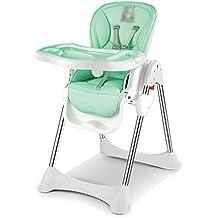 silla comedor Silla de comedor para niños PP Multifunción Mesa de comedor plegable Silla alta