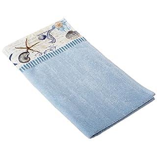 Avanti Antigua Wash Cloth, Blue Fog