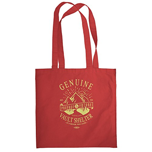 Texlab–Genuine Vault Shelter–sacchetto di stoffa Rot