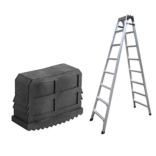 1 par resistente resbalón no escalera extensión