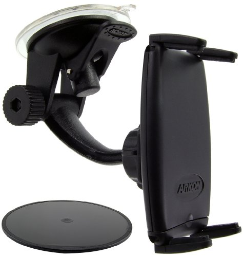 Arkon ipm514 Passive Holder Black Holder – Holders (Mobile Phone/Smartphone, Passive Holder, Black, Apple iPhone – All Models Including Verizon iPhone, iPhone 4, 3 GS, 3 G, AND ORIGINAL iPod Touch Rim..., 360 °)