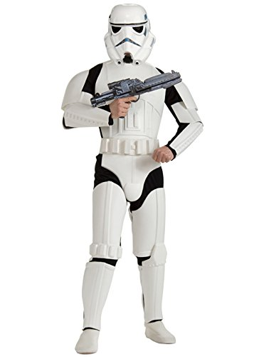 "Mens Star Wars Deluxe Stormtrooper Kostüm XL (44-46"" Chest)"