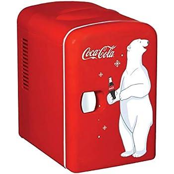 Coca Cola Kwc4 Adult Electric Fridge Red Amazon Co Uk