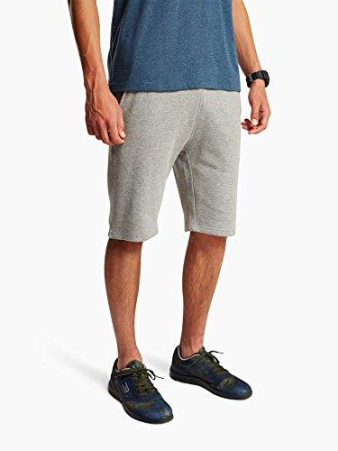 Jack & Jones Tech Herren Jjtcslider Sweat Shorts Noos Light Grey Melange