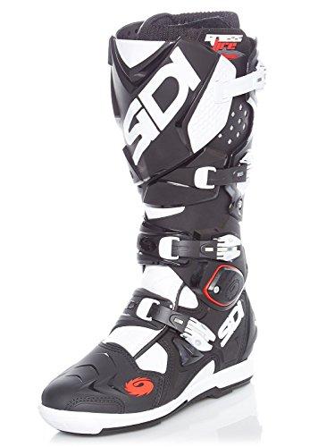 63f7edd1b1d94 Sidi Motorcycle Boots Sidi Crossfire 2 SRS Black White EC 44 Black   White