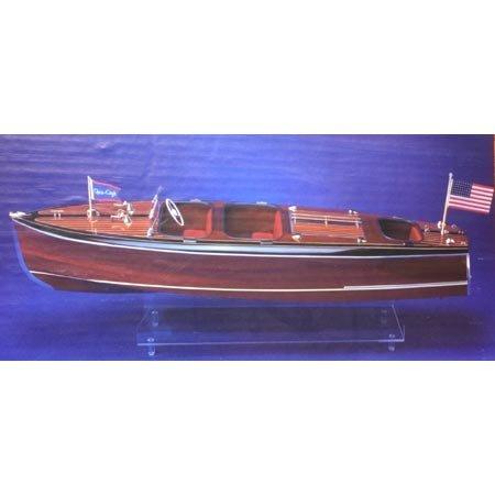 Chris Craft Triple Cockpit Barrel Back Wooden Boat Kit by Dumas by Dumas (Chris Craft Barrel)