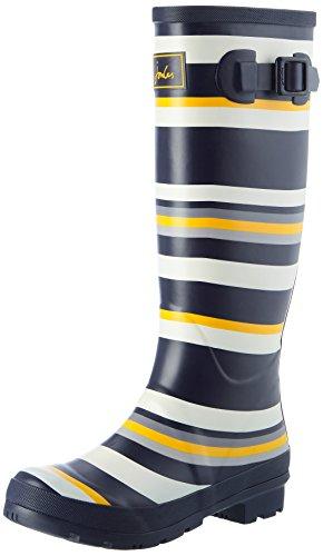 Joules Welly Print - Botas de agua, color Navy Spot, talla 39