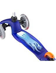 SCOOT - Patinete Deck Grips & Pegatinas (Azul)