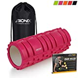 Bionix Pink Foam Roller Exercise High Density...