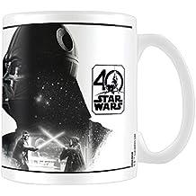Pyramid International - Taza De Star Wars 40 Aniversario, Modelo Darth Vader