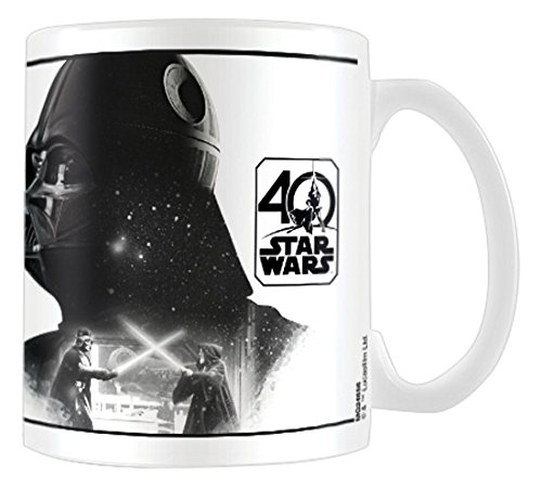 Pyramid International - Taza De Star Wars 40 Aniversario, Modelo Darth Vader
