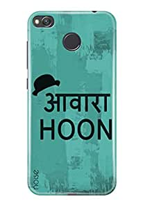 Noise Redmi 4 , Printed Designer Back Cover For Redmi 4 Case cover /Quotes/Messages /I Am Tramp Design - (GD-1946)