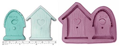 Casetta Bird Houses Craft Stampo Sculpey Silicone