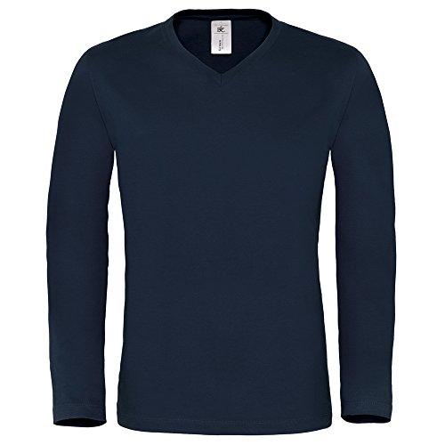 B&C Collection -  T-shirt - Uomo blu navy