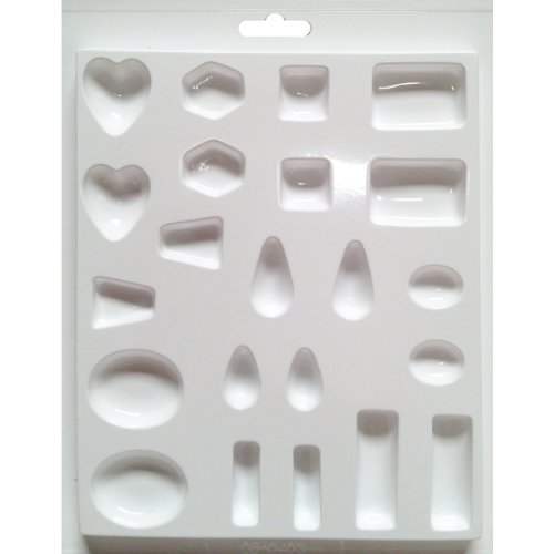 Yaley Jewelry Casting Mold, Assorted Size and Shape Jewels
