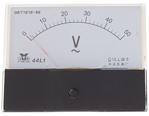 Sourcingmap, a14050600ux0475, Gamma analogico Pannello Voltmetro AC 0-50V 44L1