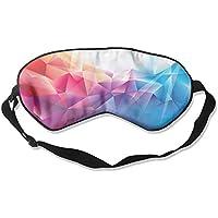 Eye Mask Eyeshade Colorful Polygons Sleep Mask Blindfold Eyepatch Adjustable Head Strap preisvergleich bei billige-tabletten.eu
