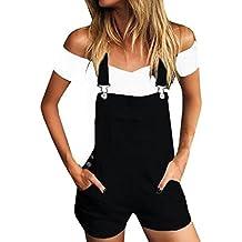 Trou Lâche Casual Pantalon Dames Femmes Court Pantalon Shorts Denim D'été Bib Chic 1FnIxqRp