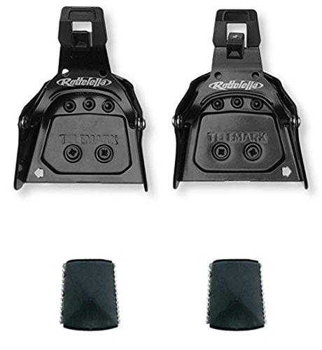 Rottefella Super Telemark 3-polig 75mm Rückseite Skibindung für Stiefel Sohle 12–20mm dick