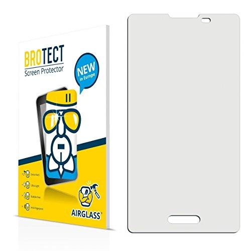 BROTECT AirGlass Premium Glasfolie für LG Electronics E450 Optimus L5 II (extrahart, ultradünn, hochtranzparent, Anti-Fingerprint, flexibel)