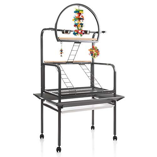 Montana Cages ®   Freisitz New Sunlite - Antik für Papageien