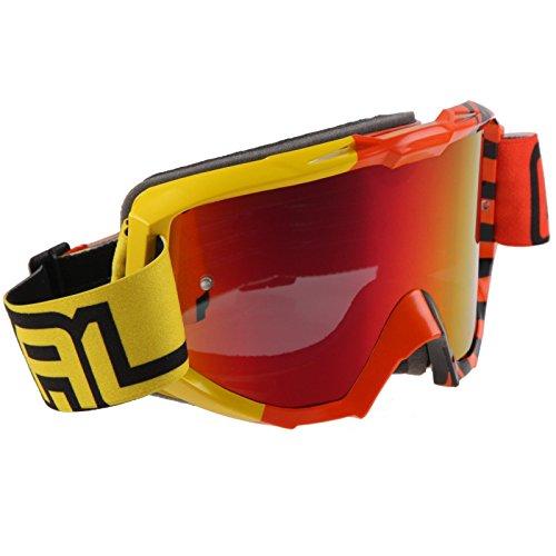 Mx Goggle Oneal B1 Rl Okinawa Giallo-Arancio Radium (Default , Giallo)