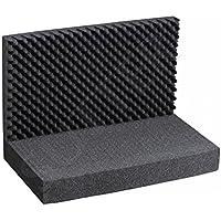 Espuma con dados Raster/Superior e Inferior (3piezas)/Dimensiones: 43x 33cm/para caja de aluminio, maletín Pistola maletín y armas maletín