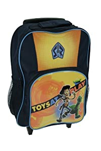 Trade Mark Collections Toy Story 3 Wheeled Bag with Side Mesh Pockets by Trade Mark Collections