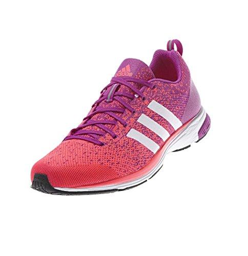 Adidas Adizero Primeknit 2.0 Scarpe da Ginnastica Unisex Q21955 Rosa / Bianco / Rosso