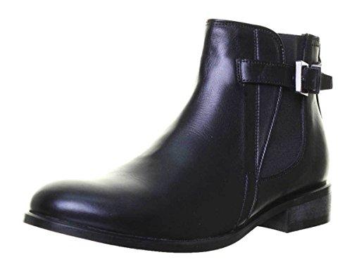 e, Damen Stiefel & Stiefeletten, Schwarz - schwarz - Größe: 37.5 ()