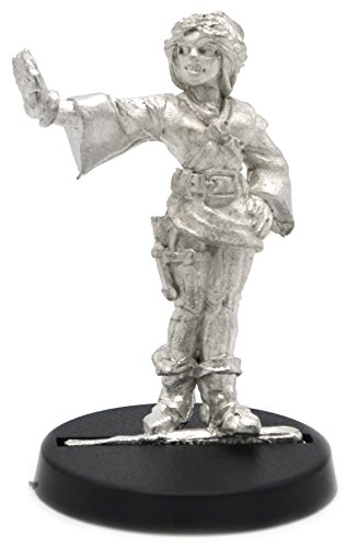 Stonehaven Miniatures-Figur, männlicher Magier, weiblich, für 28 mm große Tisch-Tischspiele -