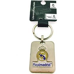 Llavero Real Madrid Club de Fútbol Rectangular Producto Oficial