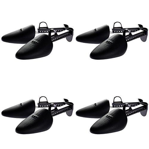 HIMRY-4-pares-Hormas-de-zapato-Plastico-para-Hombre-Uno-Tamao-negro-KXB6003-black-4x