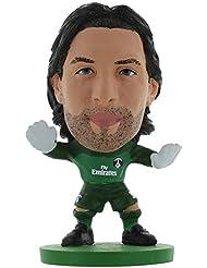 Soccerstarz - 400053 - Figurine Sport - Officiellement Autorisé De Salvatore Sirigu Dans Le Maillot Officiel Du Paris St Germain
